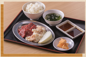 FireShot Capture 332 - 岡山市のリーズナブルな定食で気軽に一人焼肉 - http___www.kishimoto-shoji.com_set.html